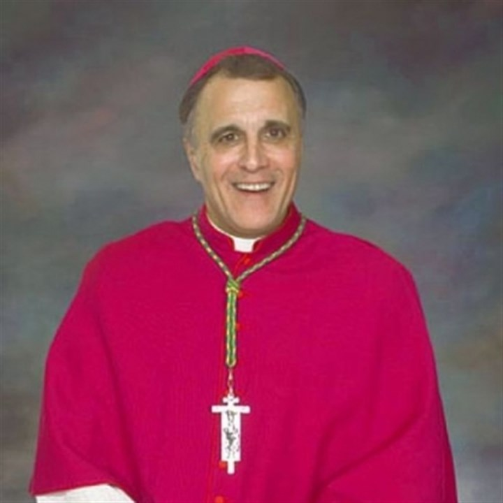 Daniel DiNardo Cardinal Daniel DiNardo, archbishop of Galveston-Houston in Texas, grew up in Pittsburgh and was ordained a priest here.