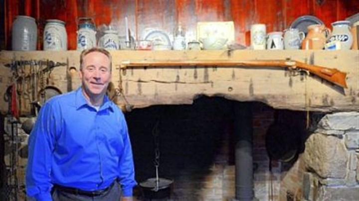 David Pancake David Pancake stands in front of the original fireplace in his home built in 1780, outside Romney in Hampshire County, W.Va.