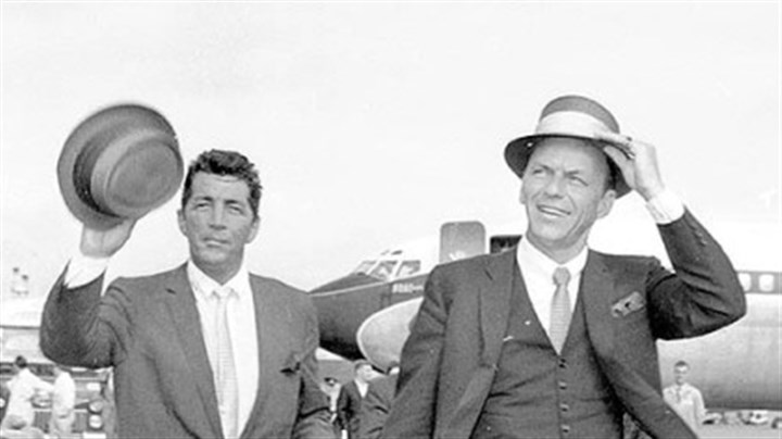 Dean Martin and Frank Sinatra Two of the giants, Dean Martin and Frank Sinatra, in 1961
