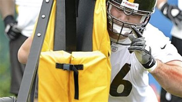 DeCastro Steelers No. 1 pick David DeCastro works on his first day in uniform.