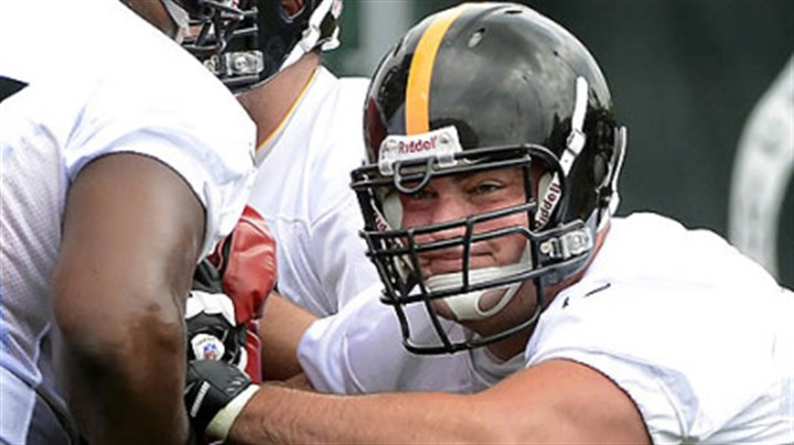 decastro2 Offensive guard David DeCastro, working out during minicamp before being hurt, is the latest in a line of injured players who will impact the decisions made by tomorrow on the 53-man roster. The Steelers play host to the Carolina Panthers at 7 tonight.
