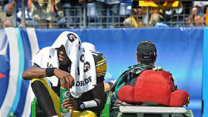 Dennis Dixon Steelers quarterback Denis Dixon is expected to be sidelined six weeks due to a left knee injury.