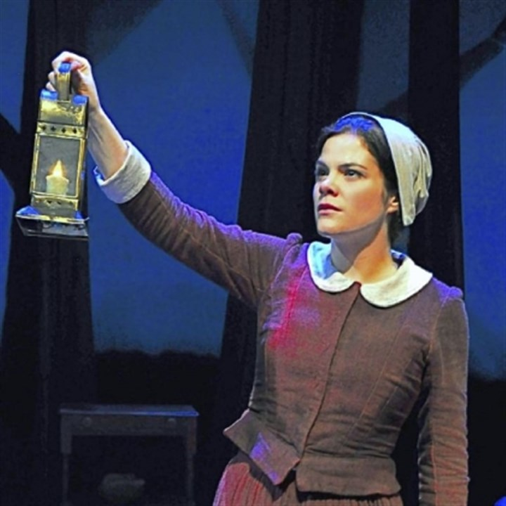 Diane Davis Diane Davis in 'Abigail/1702' at City Theatre.