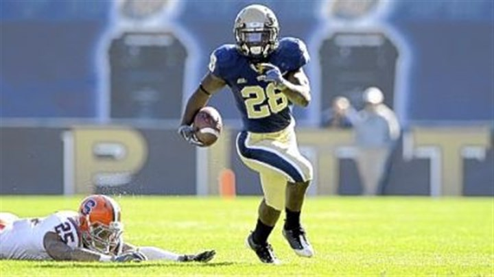 Dion Lewis Running back Dion Lewis leads Pitt against Notre Dame Saturday.