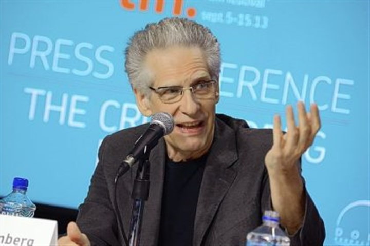 "Director David Cronenberg Director David Cronenberg discusses ""The Cronenberg Project"" during the Toronto International Film Festival on Thursday."