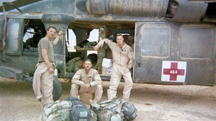 Don Bankosh in Iraq Don Bankosh, center, during his deployment in Iraq in 2003.