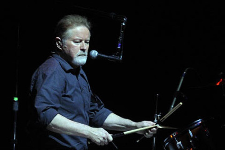Don Henley The Eagles' Don Henley on drums.