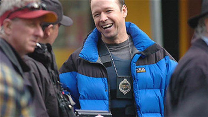 "Donnie Wahlberg Donnie Wahlberg plays the polce negotiator in Spike TV's ""The Kill Point,"" which was filmed in Market Square."