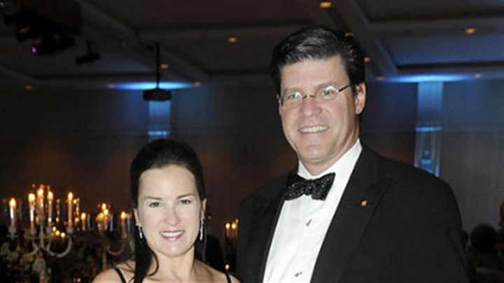 Dr. Laura Pallan and John Tippins Dr. Laura Pallan and John Tippins at Pittsburgh Opera Diamond Horseshoe Ball.