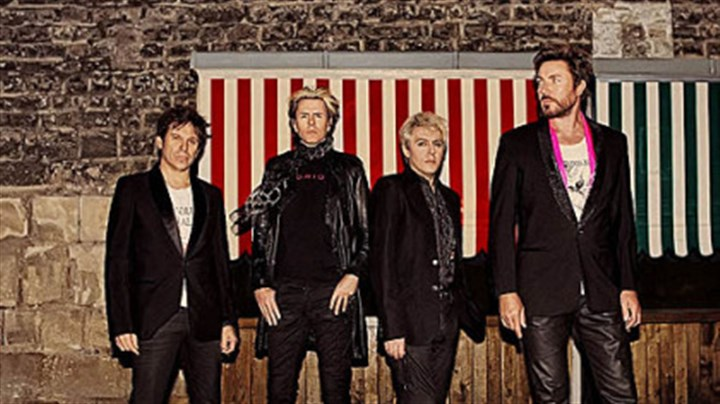 Duran Duran Roger Taylor, left, John Taylor, Nick Rhodes and Simon Le Bon comprise today's Duran Duran, playing at Stage AE Sunday.