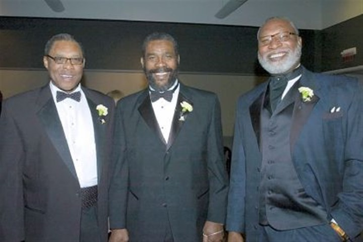 Dwight White, Joe Greene and L.C. Greenwood From left, former Steelers Dwight White, Joe Greene and L.C. Greenwood at the Steelers 75th Gala event at the David L. Lawrence Convention Center in 2007.