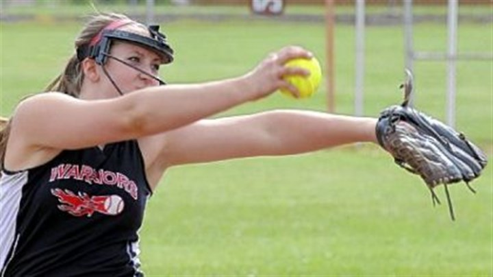 EF Softball Elizabeth Forward's Portia McBride leads the Warriors into the WPIAL Class AAA championship game.