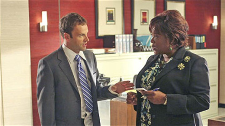 """Eli Stone"" Jonny Lee Miller is ""Eli Stone,"" with Loretta Devine as his assistant, Patti, in the new ABC series premiering tonight."