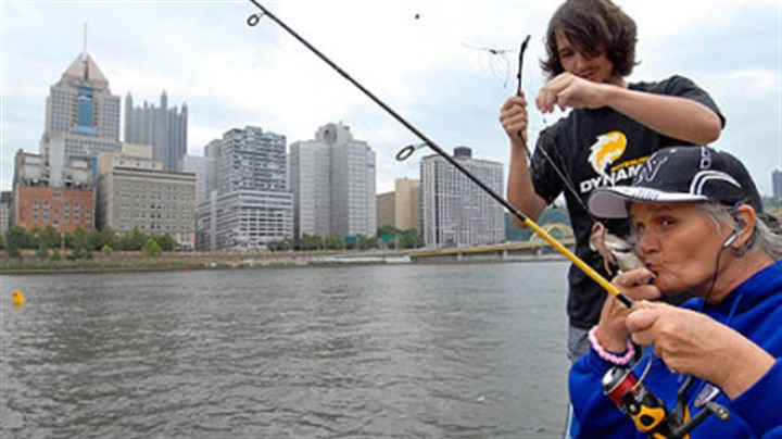 Forrest wood cup all rivers and fish lead to pittsburgh for Fishing in pittsburgh