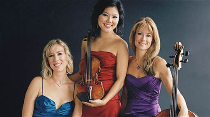 Eroica Trio Eroica Trio will join the PSO in concerts Sept. 30-Oct. 2 at Heinz Hall.