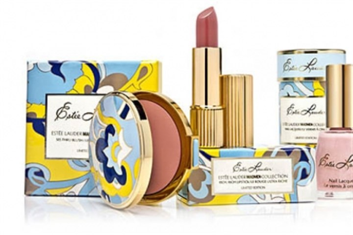 "Estee Lauder 'Mad Men' makeup The Estee Lauder ""Mad Men""-inspired makeup collection."