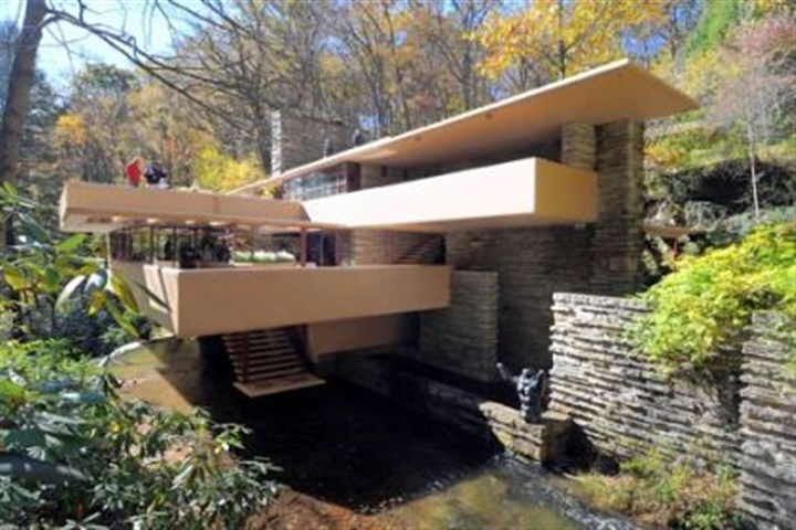 fallingwater file The Opera Theater of Pittsburgh plans to perform on the outdoor terraces of Frank Lloyd Wright's Fallingwater.