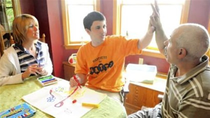 Family time Post-Gazette