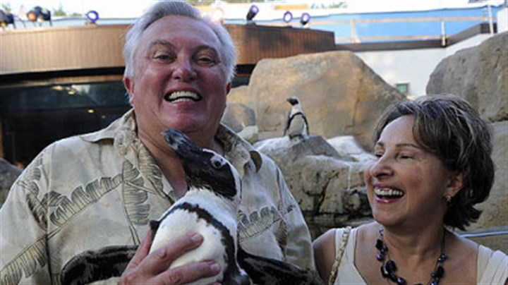 Fired Patrick Mangus, left, was fired Thursday as executive director of the National Aviary.
