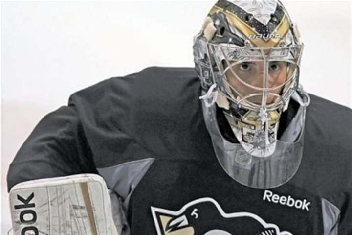 "Fleury intense file photo Penguins goalie Marc-Andre Fleury says finishing first in the Eastern Conference would be a ""nice reward"" for the team."