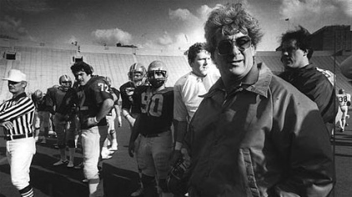 Foge Fazio Foge Fazio, Pitt Panthers football coach in 1982 PG file photo.