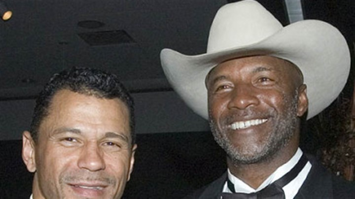 Former Steelers Rod Woodson and Mel Blount Former Steelers Rod Woodson, left, and Mel Blount, at the Steelers 75th Season Gala event at the David L. Lawrence Convention Center.