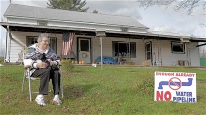 "'FrackNation' Martha Losey from Dimock, Pa., is featured in ""FrackNation."""