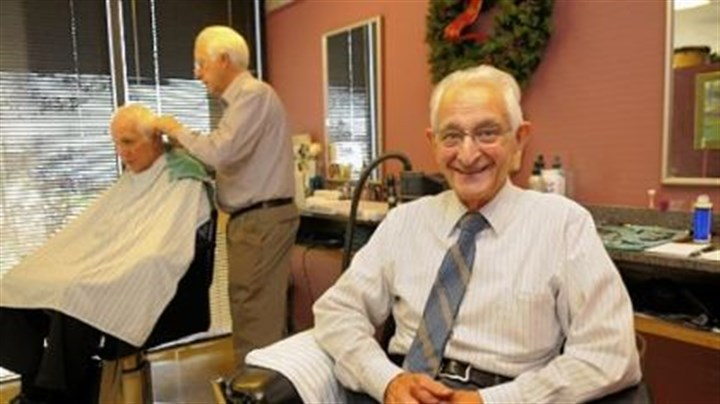 Frank Vitale Frank Vitale turned 90 on Wednesday and is still working in his salon, Vitale's Hair Styling, in Foster Plaza in Green Tree.