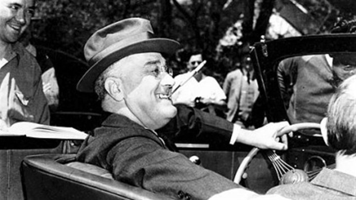 Franklin D. Roosevelt President Franklin D. Roosevelt in 1939 at Warm Springs, Ga.
