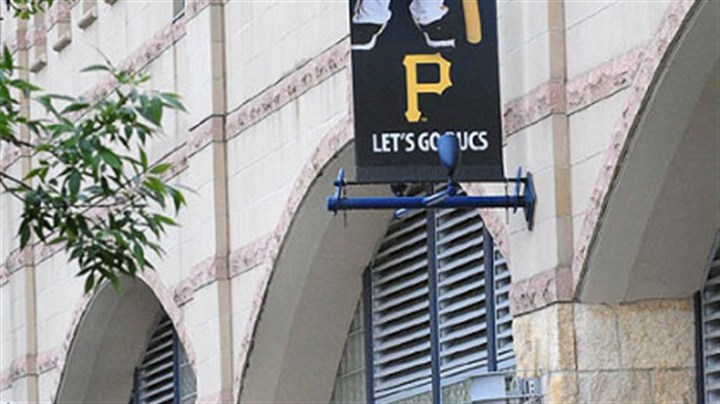 Freddie Sanchez Banner of Pirates Freddie Sanchez still hangs outside PNC Park after the announcement of his trade to San Francisco Giants.