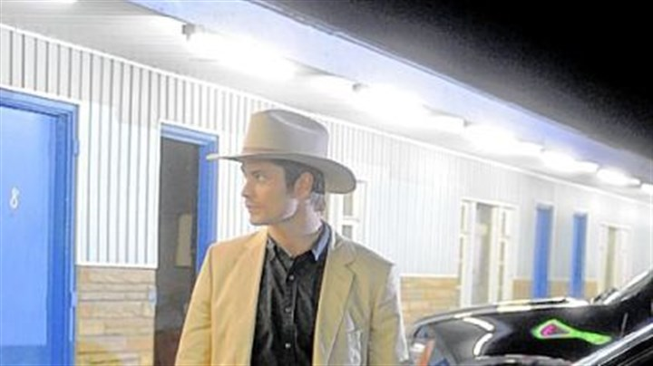 "FX Timothy Olyphant stars in ""Fire in the Hole,"" an FX pilot shooting in southwestern Pennsylvania."