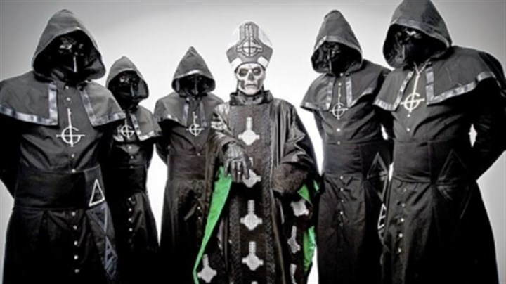 "Ghost B.C. Ghost B.C.'s latest is called ""Infestissumam,"" which the Swedish metal band recorded in Nashville."