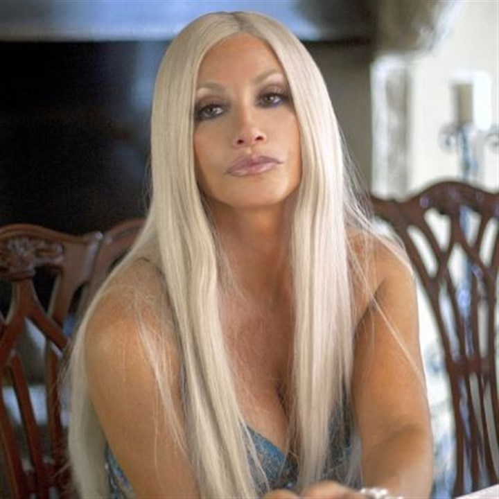 "Gina Gershon Gina Gershon stars as Donatella Versace in Lifetime's ""House of Versace"" at 8 p.m. Saturday."