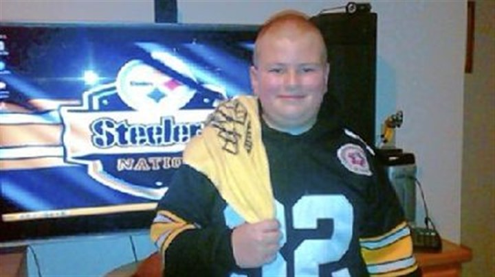 Grendon Bailie Grendon Bailie in his Steelers gear.