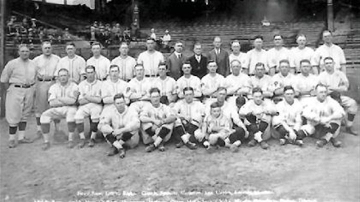 Group picture of the Pirates as 1925 World Series Champions Group picture of the Pirates as 1925 World Series Champions