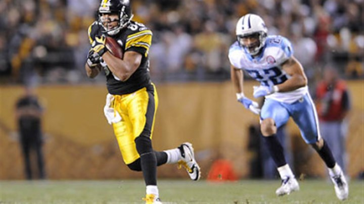 Hines Ward Steelers wide receiver Hines Ward had eight catches for 103 yards versus the Titans in Week 1.