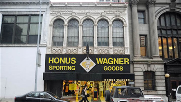 Honus Wagner The Honus Wagner Sporting Goods store on Forbes Avenue, Downtown, in this Feb. 9, 2009, photo.