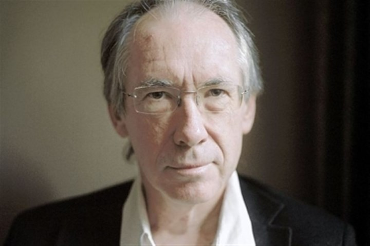"Ian McEwan, author of ""Sweet Tooth"" Ian McEwan: ""It's not a top-down process; it's a bottom-up process, of small things leading to big things."""