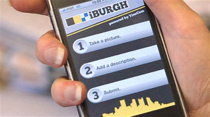 "iBurgh The ""iBurgh"" application for the iPhone lets citizens send complaints to the city."