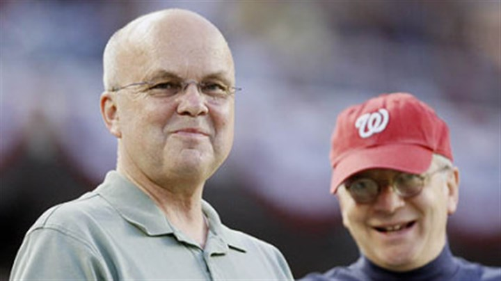 In the stands: CIA Director Michael Hayden and WH Chief of Staff Josh Bolten Central Intelligence Agency Director General Michael Hayden, left, and White House Chief of Staff Josh Bolten are pictured in the stands as the Pirates played the Washington Nationals last night in Washington.