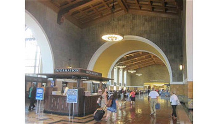 Inside Union Station Los Angeles Inside Union Station Los Angeles.