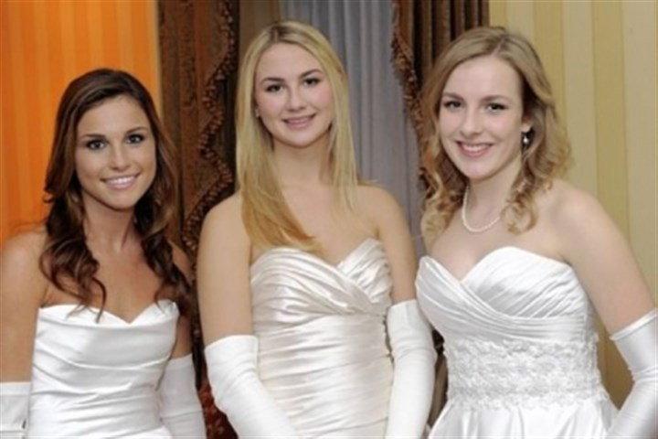 Isabel Aiken, Brooke Roberts and Caroline Stamy Isabel Aiken, Brooke Roberts and Caroline Stamy.