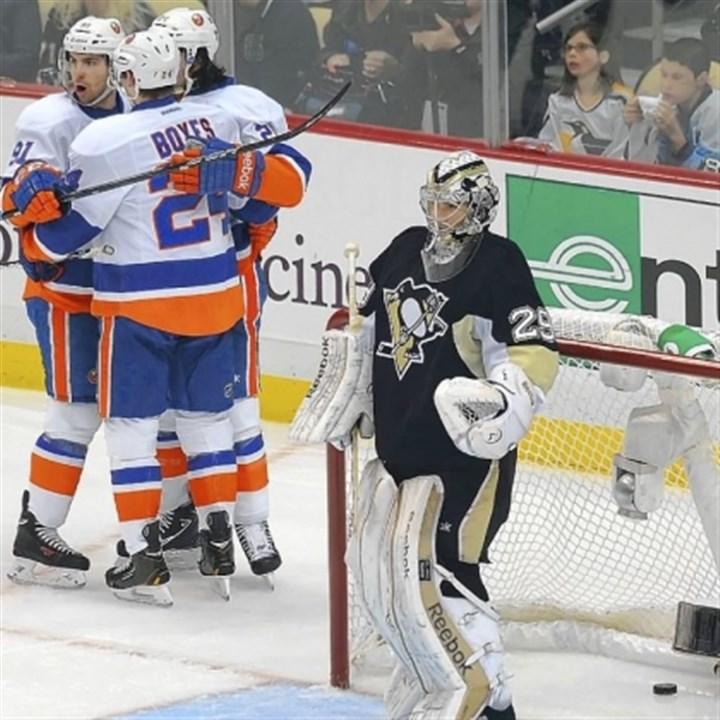 isles The Islanders are feeling pretty good about themselves and their chances of beating the Penguins in the first round after Friday night's impressive win.