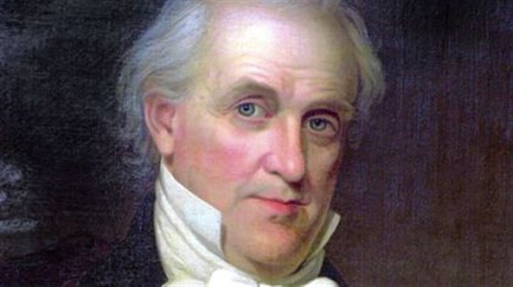 James Buchanan President James Buchanan: tense times