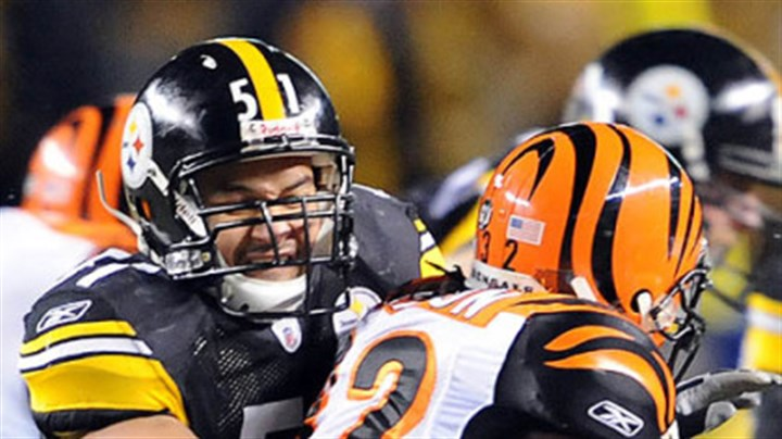 "James Farrior Steelers linebacker James Farrior on Cincinnati: ""They look like they know what they're doing."""