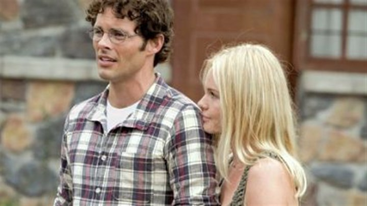 "James Marsden and Kate Bosworth James Marsden and Kate Bosworth in ""Straw Dogs."""