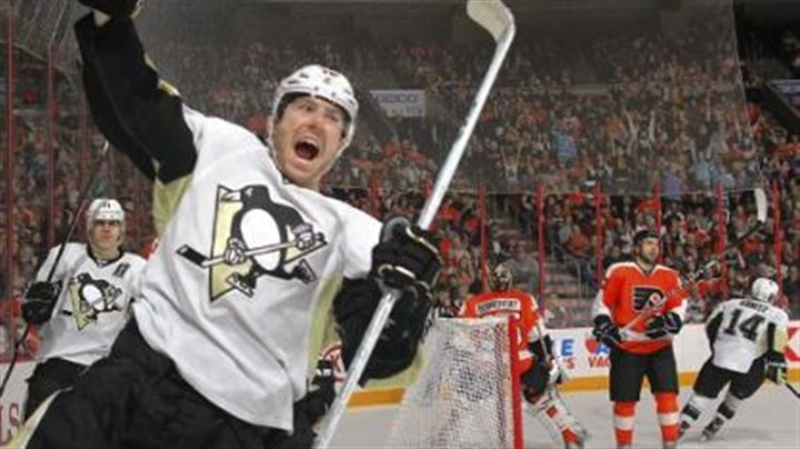 James Neal James Neal celebrates his 30th goal of the season, making it 6-3 Saturday in Philadelphia.