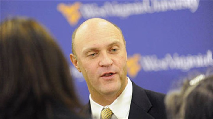 20131111APclementsLOCAL West Virginia President James Clements to lead Clemson