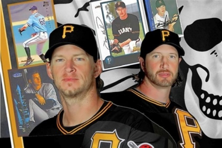 Jason Grilli and A.J. Burnett Jason Grilli and A.J. Burnett have settled into crucial roles both on and off the field heading into 2013.