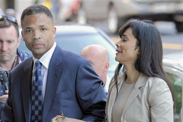 Jesse Jackson Jr. and wife, Sandra, arrive Former Illinois Rep. Jesse Jackson Jr. and his wife, Sandra, arrive at federal court Wednesday in Washington, D.C. A judge gave prison sentences to the onetime power couple for misusing $750,000 in campaign money on everything from a gold-plated Rolex watch and mink capes to vacations and mounted elk heads.